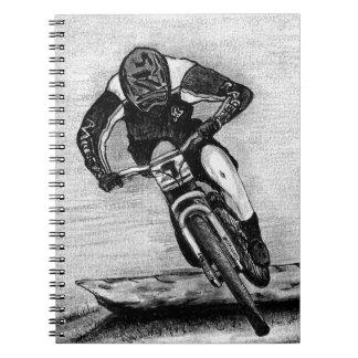 Mountain Bike Ride Notebook