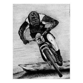 Mountain Bike Ride Postcard