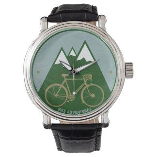 mountain bike stylish hour watch
