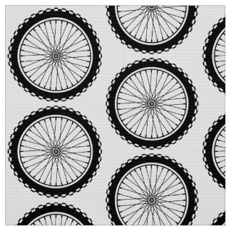 Mountain Bike Wheel - Black Fabric