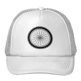 Mountain Bike Wheel - Black Trucker Hat