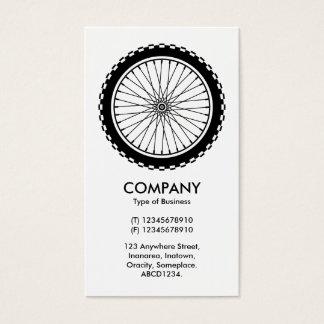 Mountain Bike Wheel Business Card