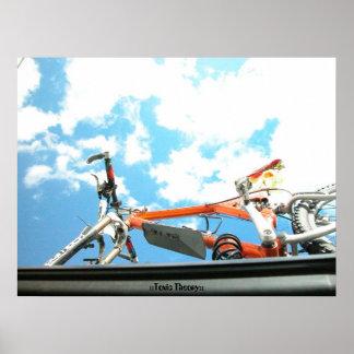 Mountain Biker Heaven Poster