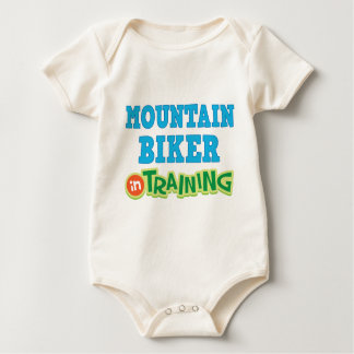 Mountain Biker In Training (Future) Baby Bodysuit