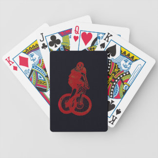 Mountain Biker MTB BMX CYCLIST Bicycle Playing Cards