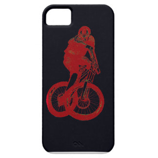 Mountain Biker MTB BMX CYCLIST Case For The iPhone 5