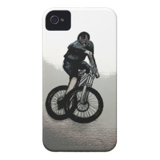 Mountain Biker MTB BMX CYCLIST Case-Mate iPhone 4 Case