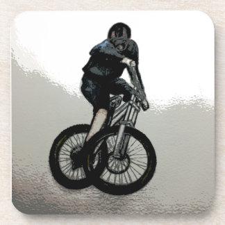 Mountain Biker MTB BMX CYCLIST Coaster