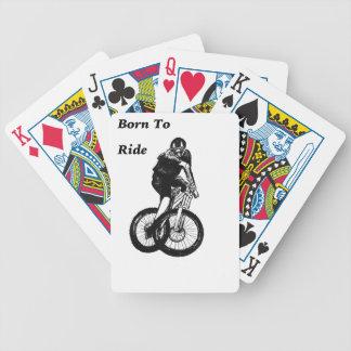 Mountain Biker MTB BMX CYCLIST Cyclo cross Bicycle Playing Cards