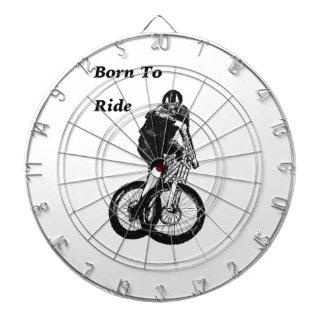 Mountain Biker MTB BMX CYCLIST Cyclo cross Dartboard