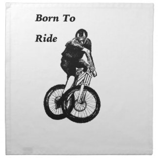 Mountain Biker MTB BMX CYCLIST Cyclo cross Napkin