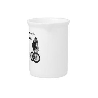 Mountain Biker MTB BMX CYCLIST Cyclo cross Pitcher