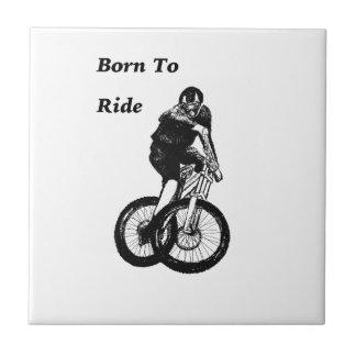 Mountain Biker MTB BMX CYCLIST Cyclo cross Tile