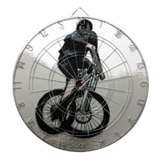 Mountain Biker MTB BMX CYCLIST Dartboard