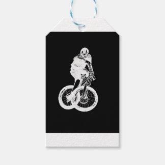 Mountain Biker MTB BMX CYCLIST Gift Tags