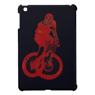 Mountain Biker MTB BMX CYCLIST iPad Mini Cases
