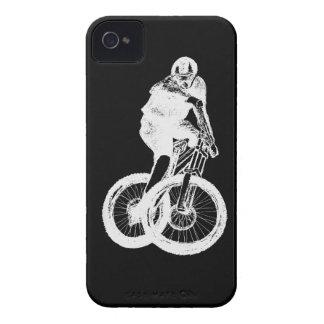 Mountain Biker MTB BMX CYCLIST iPhone 4 Covers