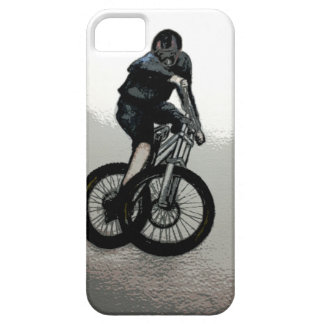 Mountain Biker MTB BMX CYCLIST iPhone 5 Cover
