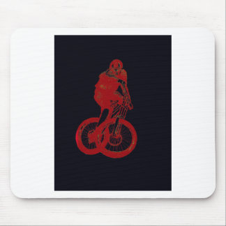 Mountain Biker MTB BMX CYCLIST Mouse Pad