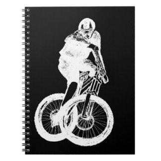 Mountain Biker MTB BMX CYCLIST Notebook