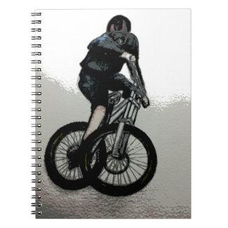 Mountain Biker MTB BMX CYCLIST Notebooks