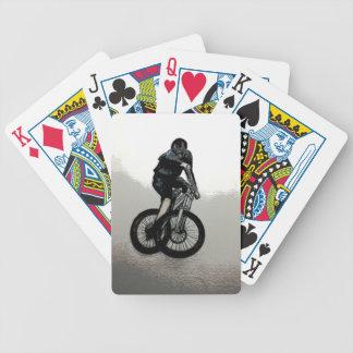 Mountain Biker MTB BMX CYCLIST Poker Deck