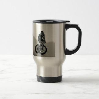 Mountain Biker MTB BMX CYCLIST Travel Mug