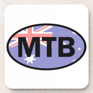 Mountain Biking Australia Flag Coaster