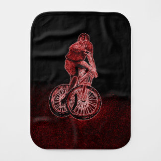 Mountain Biking Burp Cloth