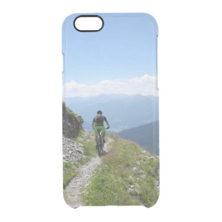 Mountain Biking Clear iPhone 6/6S Case
