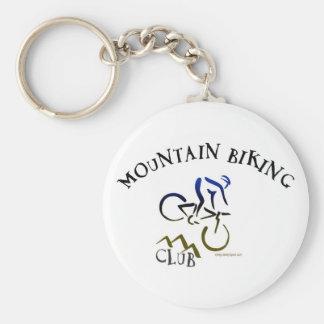 MOUNTAIN BIKING CLUB KEYCHAIN