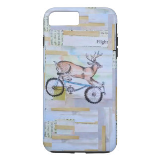 Mountain Biking Deer cell case