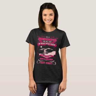 Mountain Biking Girl Heart On Sleeve Fire In Soul T-Shirt