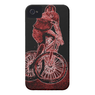 Mountain Biking iPhone 4 Case-Mate Case