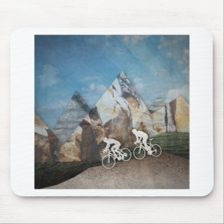 Mountain Biking Mouse Pad