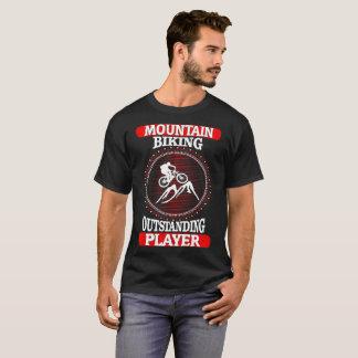 Mountain Biking Outstanding Player Sports Outdoors T-Shirt