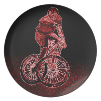 Mountain Biking Plate