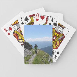 Mountain Biking Playing Cards