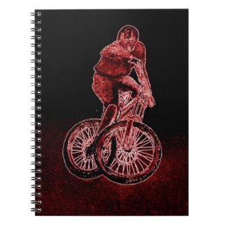 Mountain Biking Spiral Notebook