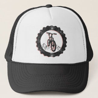 Mountain Biking Trucker Hat