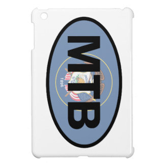 Mountain Biking Utah Flag iPad Mini Cases