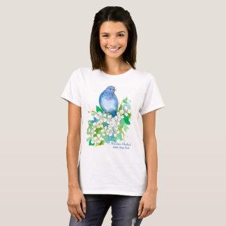 Mountain Bluebird Idaho State Bird T-Shirt