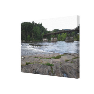 Mountain Bridge Canvas Print