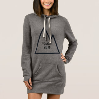 Mountain Bum Hoodie Dress