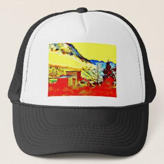 Mountain Cabin Trucker Hat