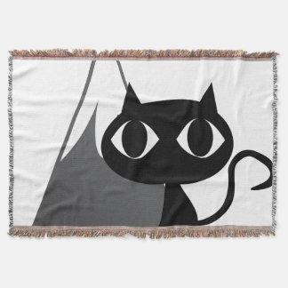 Mountain cat throw