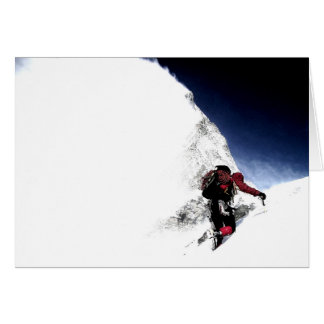 Mountain Climber Extreme Sports Card