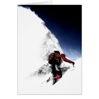 Mountain Climber Extreme Sports Card