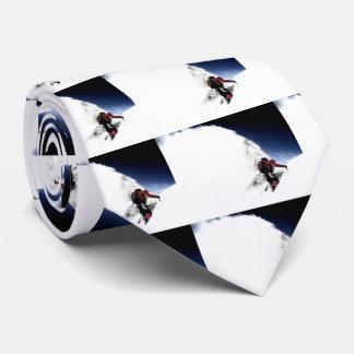 Mountain Climber Extreme Sports Tie
