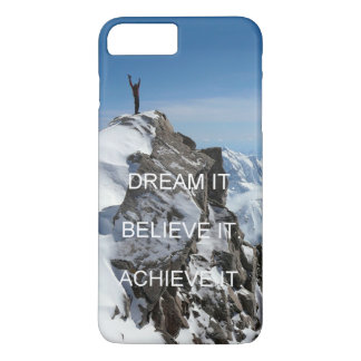 mountain climber motivation inspiration quote Case-Mate iPhone case